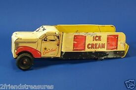 vintage walter reach toy ice cream delivery