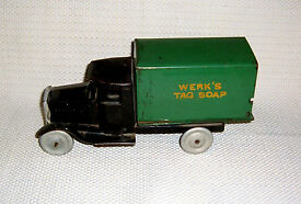 metal craft pressed steel truck werk s tag