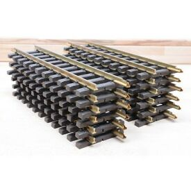 new lgb 10000 30cm brass tracks box of 12