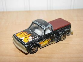 zee zylmex chevy stepside pickup truck black