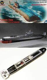 rc 1 350 russian typhoon class parts set not
