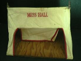 vintage barclay mess hall tent for lead