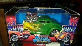 1 18 33 willys coupe its a gas green w