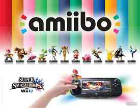 various nintendo amiibo collection wii u 3ds