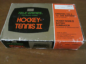 sears tele games hockey tennis ii pong