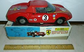 vintage tin friction ferrari berlinetta 250