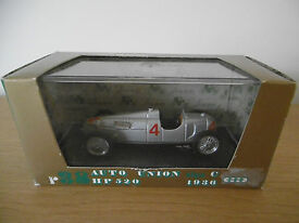new brumm r38 hp520 silver racing car scale