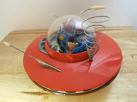 1960s yoshiya flying saucer spaceship rocket