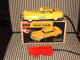 andy gard motor powered steering taxi cab w