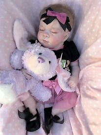 adorable reborn baby girl so realistic must