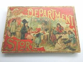 1898 the game of playing department store by