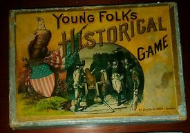 antique mcloughlin brothers game box 1880s