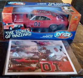 nib signed joyride dukes of hazzard general