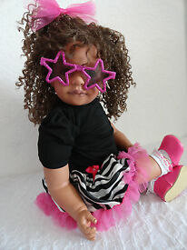 reborn child friendly biracial 22 toddler