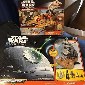 star wars micro machines playsets missing