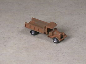 z scale 1928 rusted out ford coal delivery