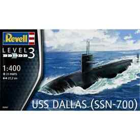 revell 05067 1 400 us navy uss dallas