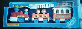 matchbox vintage chuggy chuffer train 1978