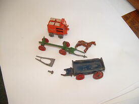 vintage open wagon log cart stage coach all