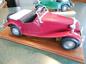 vintage 1950 s mg convertable by model toys