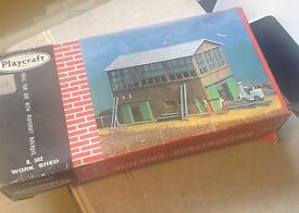 building b 302 work shed oo scale