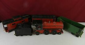 cor cor train engine tender boxcar hopper