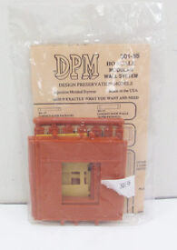 dpm 30135 ho dock level wall sections w