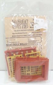 dpm 30175 ho one story wall sections w steel
