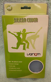 wii fit silicon cover blue brand new sealed
