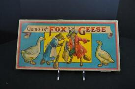 game of fox and geese mcloughlin bros 1900