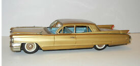 vintage early 1960 s cadillac tin friction