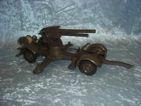 c1940 elastolin 88mm anti aircraft gun no