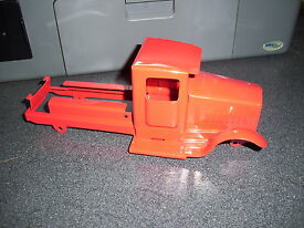 gearbox red truck cab and chassis