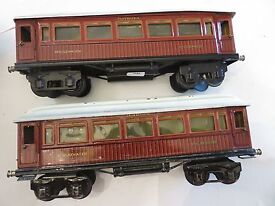 two marklin 1 gauge spur 1 dining and