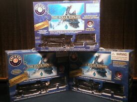 new lionel polar express train set retail