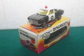 dynamights p306 mazda gt police scale model