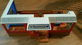 vintage brunswick bowling center toy in