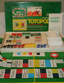 vintage 1972 totopoly board game by horse