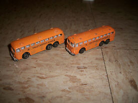 zylmex lot of 2 ho scale school buses valley
