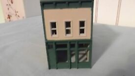 built ho scale dpm tran building in