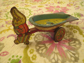 vintage 1930s wyandotte toys easter bunny