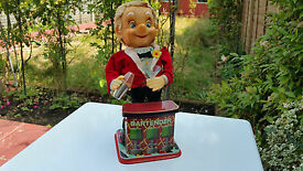 vintage tinplate battery operated rosko toys