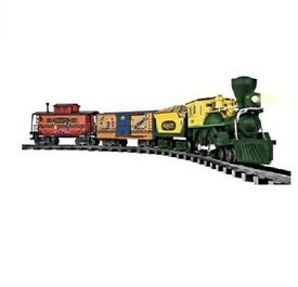 lionel trains set boxcar tracks toy scale