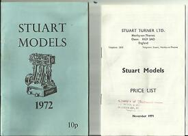 catalogue of models 1972 original price list