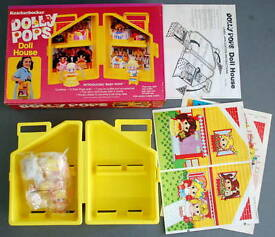 unused brand new 1980 dolly pops doll house