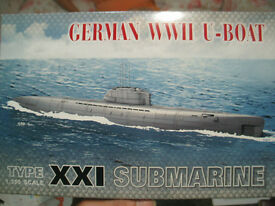 afv club 1 350 german wwii u boat type xxi