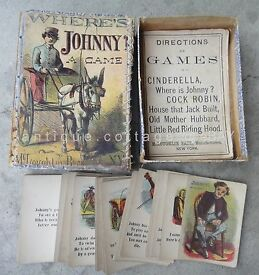 1860 antique bros card game playing where is