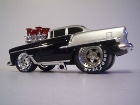 muscle machines 1955 custom chevy 1 18 scale