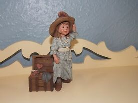 sarah s attic figurine girl holding hat and