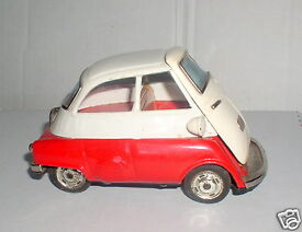 bmw isetta 300 tinplated lithographed